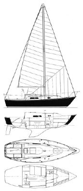 Used C & C Yachts 27 Cruiser Sailboat For Sale