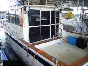 Used Burns Craft Seville-El Dorado Sports Fishing Boat For Sale