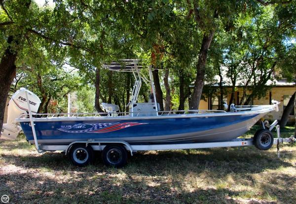 Used Blue Wave 244 Magnum Bay Boat For Sale