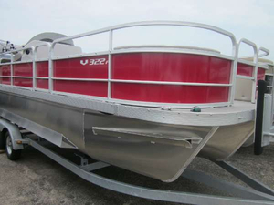 New Suncatcher V322F Pontoon Boat For Sale