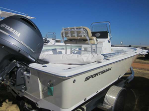 New Sportsman Boats Masters 207BB Freshwater Fishing Boat For Sale