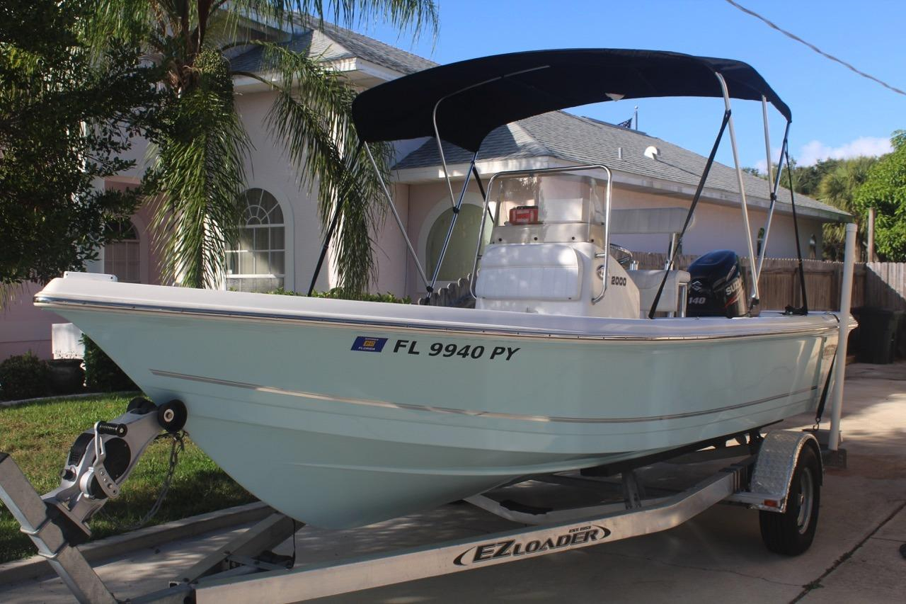 2015 used bulls bay 2000 center console fishing boat for for Used center console fishing boats for sale