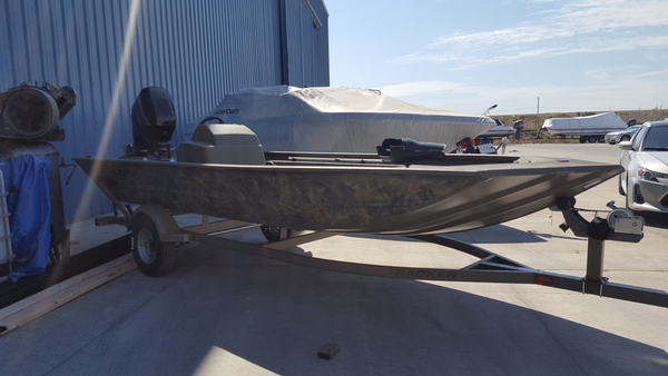 New Tracker Grizzly 1754 MVX SC Unspecified Boat For Sale