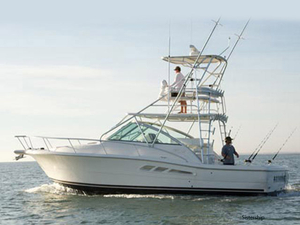 Used Rampage 33 Express Sports Fishing Boat For Sale