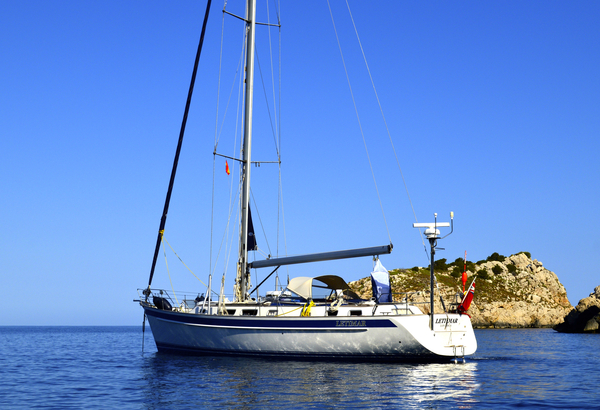Used Hallberg-Rassy 48 Hr48 Cruiser Sailboat For Sale