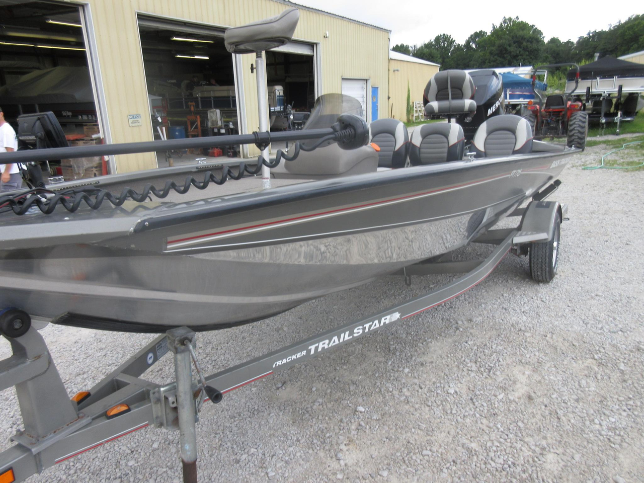 2006 used tracker pt 175 aluminum fishing boat for sale for Used aluminum fishing boats