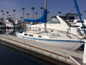 Used Jensen Marine Cal 27 Pop Top Racer and Cruiser Sailboat For Sale