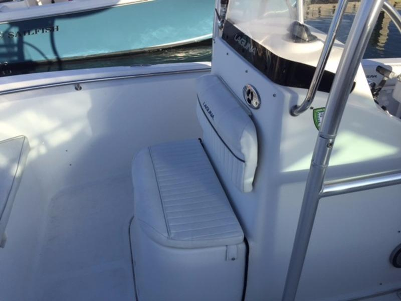 2007 used sea ray 21 39 laguna center console fishing boat for Used fishing boats for sale near me