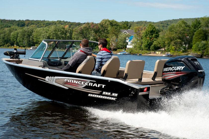 2015 new princecraft amarok dlx ws freshwater fishing boat for Freshwater fishing boats