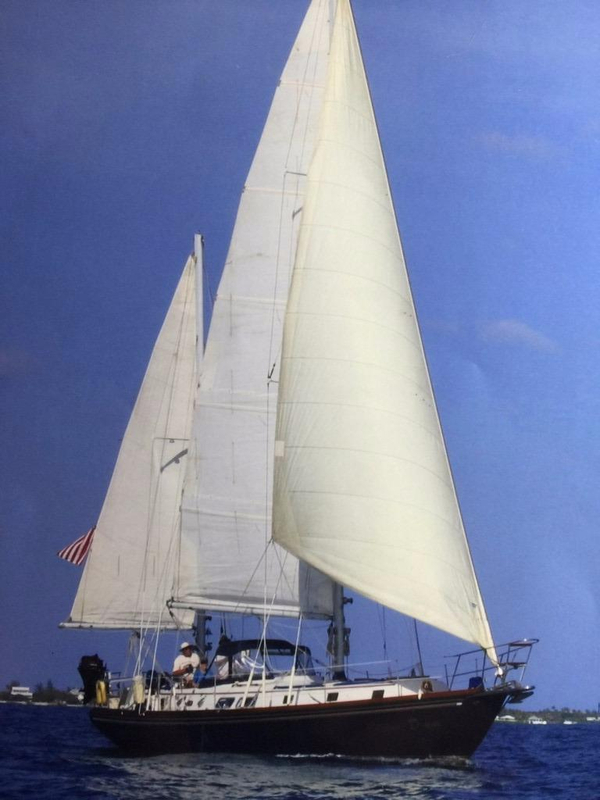 Used Gulfstar 50 Center Cockpit Sailboat For Sale