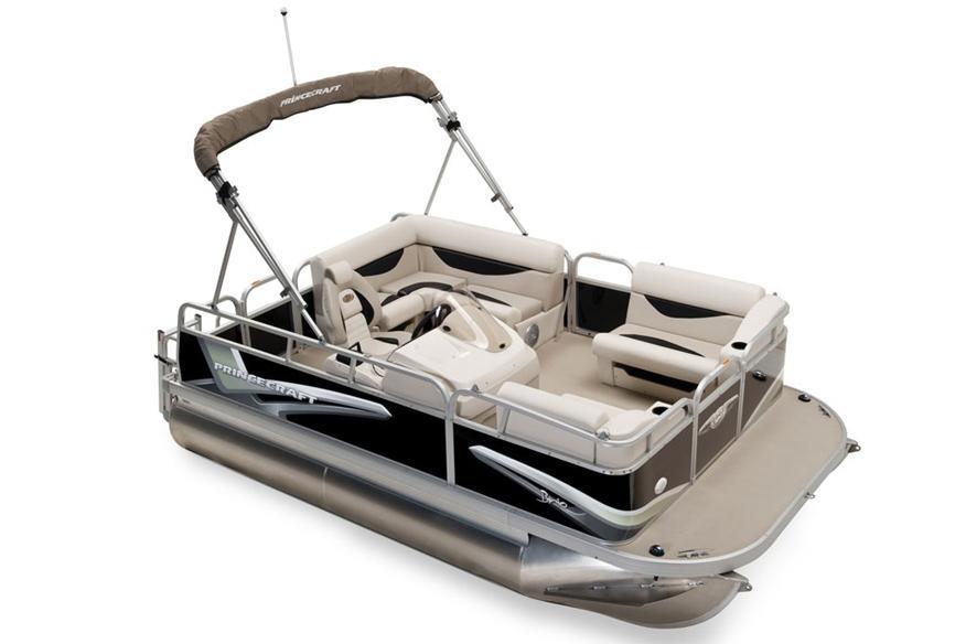 2016 New Princecraft Brio 15 Electric Pontoon Boat For