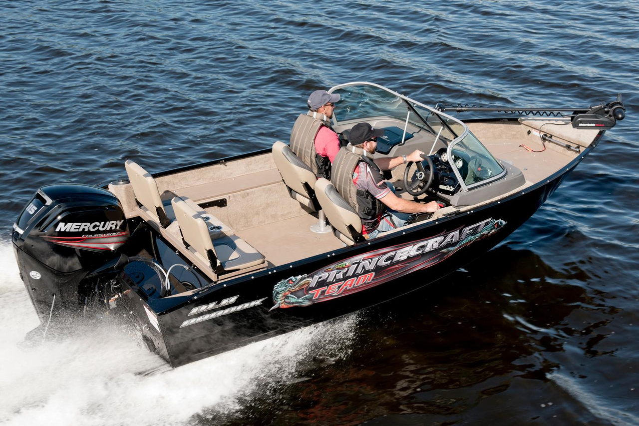 2016 new princecraft nanook dlx ws aluminum fishing boat for New fishing boats
