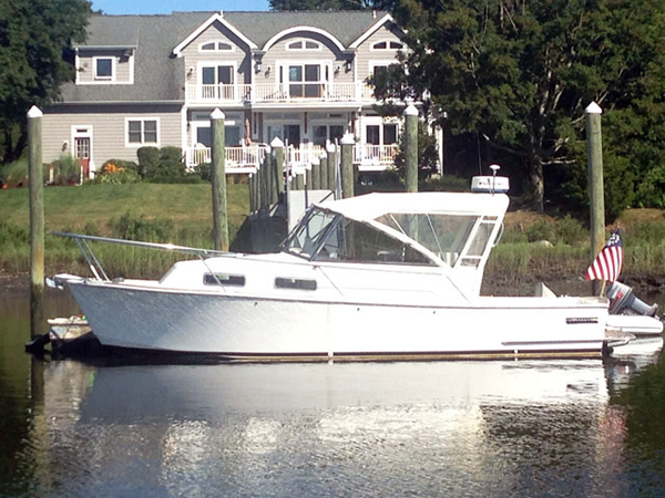 Used Legacy Express Sports Fishing Boat For Sale
