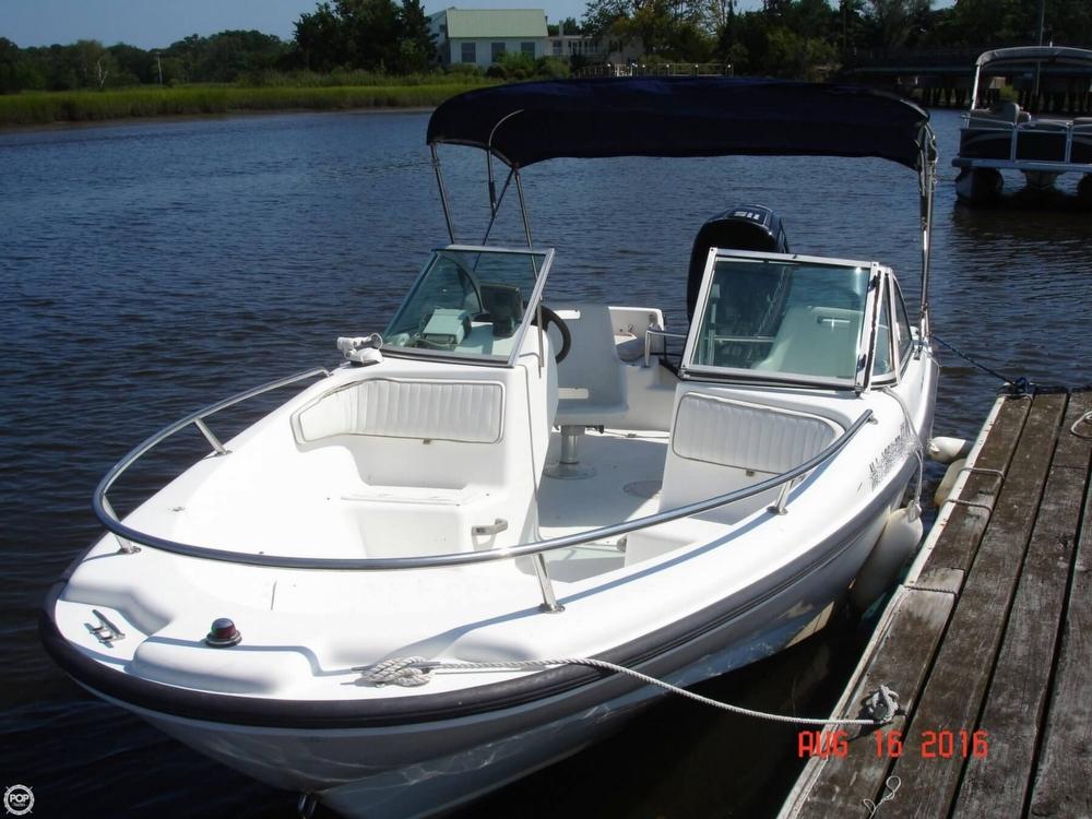 1996 used boston whaler 17 dauntless center console for Used center console fishing boats for sale