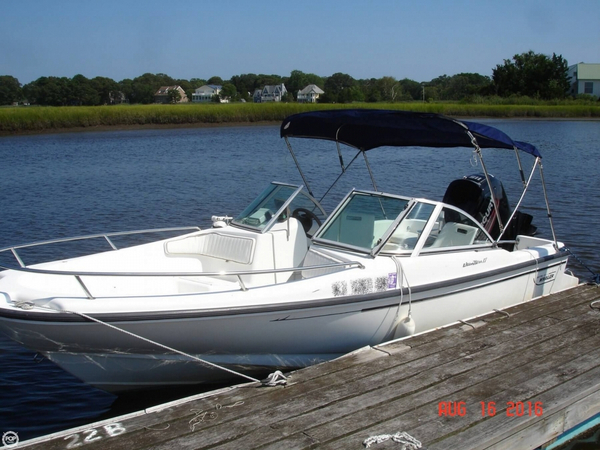 Used Boston Whaler 17 Dauntless Center Console Fishing Boat For Sale