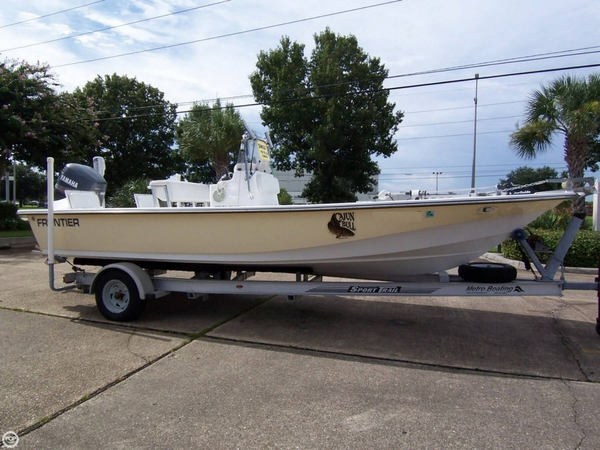 Used Frontier 210 Center Console 21 Center Console Fishing Boat For Sale