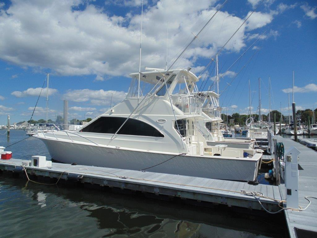 1998 used ocean yachts convertible fishing boat for sale for Fishing yachts for sale
