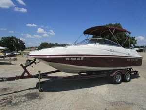 Used Tahoe Boats 228 Deck Boat For Sale