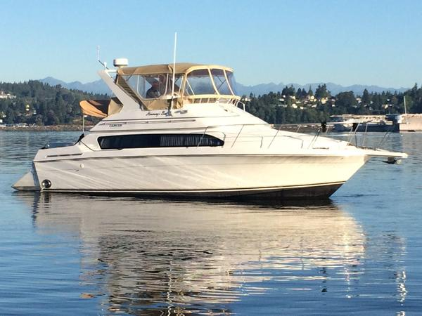 Used Carver Yachts 38 Santego Cruiser Boat For Sale