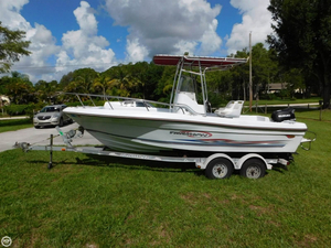 Used Triumph 210 CC Center Console Fishing Boat For Sale