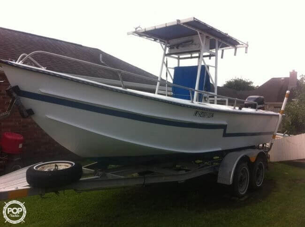 Used Settoon Towing 21 Center Console Fishing Boat For Sale