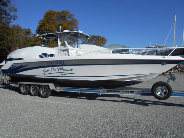 Used Donzi 35ZF Express Cruiser Boat For Sale
