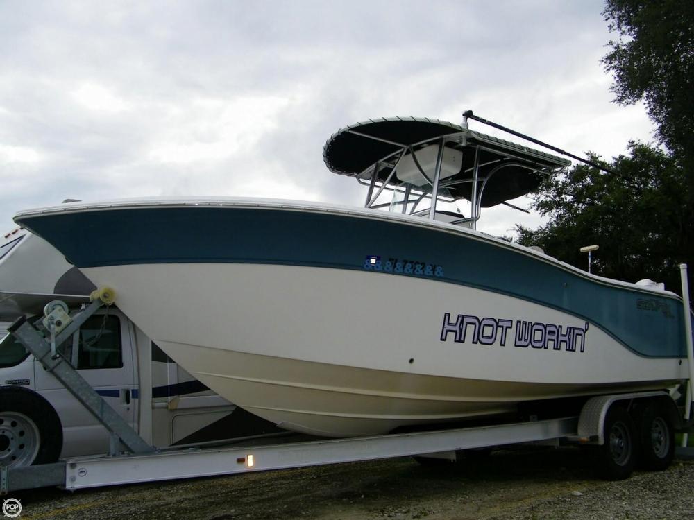 2007 used sea fox 256 cc center console fishing boat for for Used center console fishing boats for sale