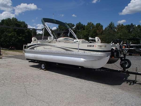 2008 used bennington 2050fsi pontoon boat for sale for Used fishing pontoon boats for sale