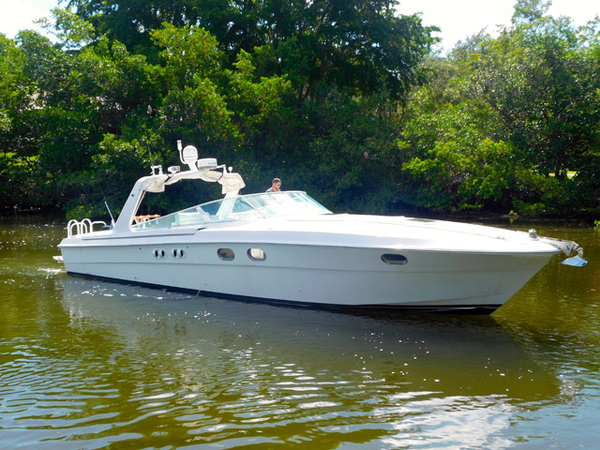 Used Magnum Marine 40 Cruiser Boat For Sale