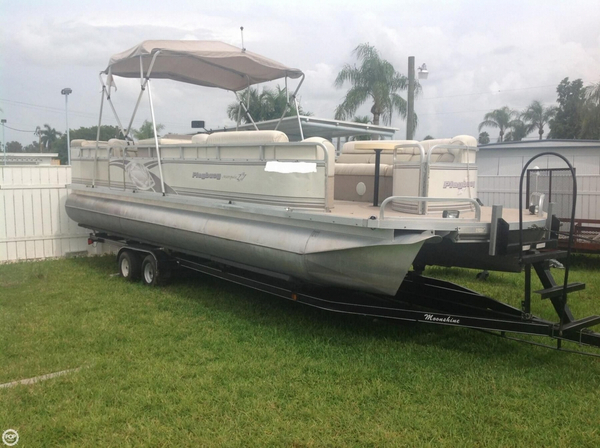 Used Playbuoy Marquise 2727 Pontoon Boat For Sale
