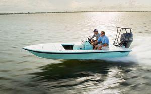 New Maverick 17 HPX-V17 HPX-V Skiff Boat For Sale