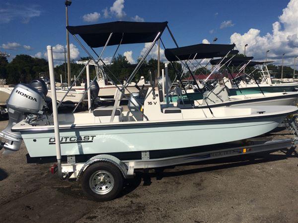 Skiffs For Sale >> 2017 New Outcast Skiffs 16v16v Skiff Boat For Sale High