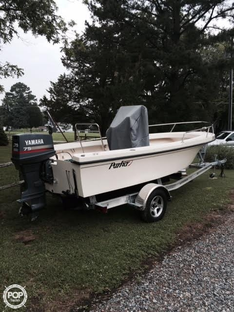 Used Parker Marine 1700 Center Console Fishing Boat For Sale