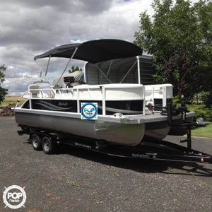 Used Jc Spirit 223 TT Fish Pontoon Boat For Sale