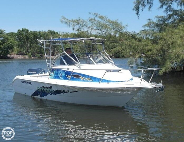 Used Sea Fox 210 Walkaround Fishing Boat For Sale