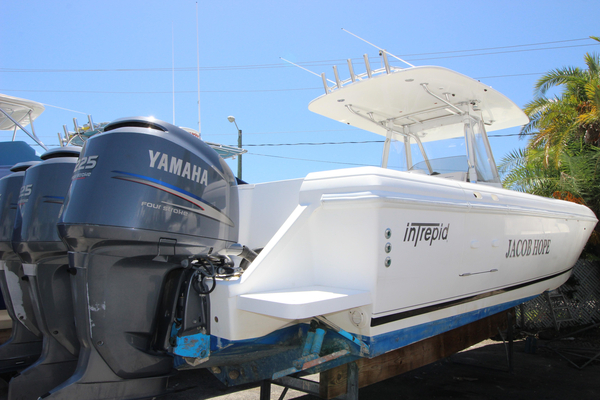 Used Intrepid 370 Open Center Console Fishing Boat For Sale