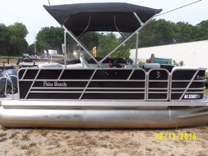 Used Palm Beach Sport Cruise 160 Pontoon Boat For Sale