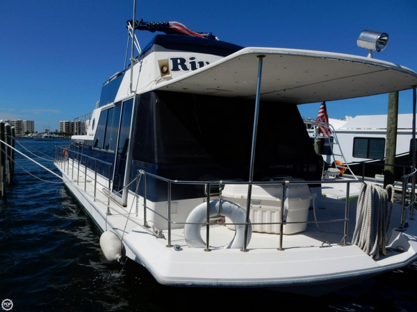 Used Chris-Craft Aqua home 46 House Boat For Sale