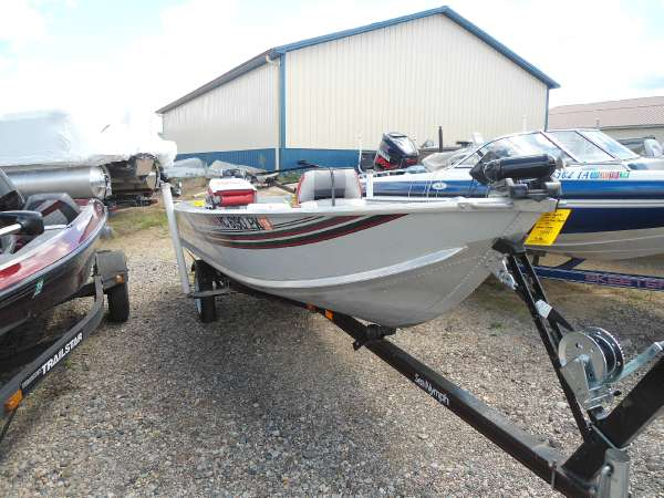 2016 used sea nymph fm 146 15 hp mercury 4 s freshwater for Used fishing boats for sale in michigan