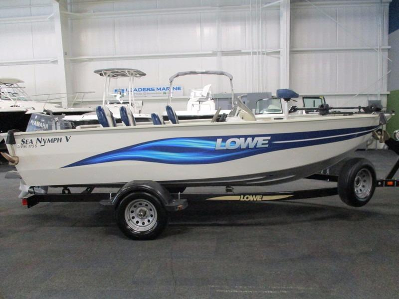 2003 used lowe boats fm175v sea nymph aluminum fishing for Used aluminum fishing boats for sale in michigan