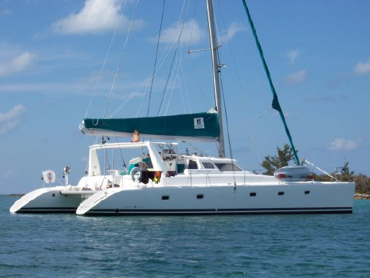 Used Voyage Yachts 500 Owner's Version Catamaran Sailboat For Sale
