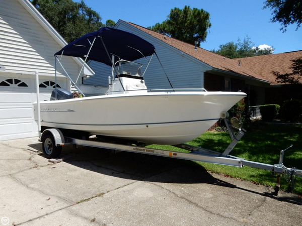 Used Sea Hunt 177 Triton Center Console Fishing Boat For Sale