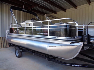 New Lowe Boats Ultra 182 Fish & Cruise Pontoon Boat For Sale