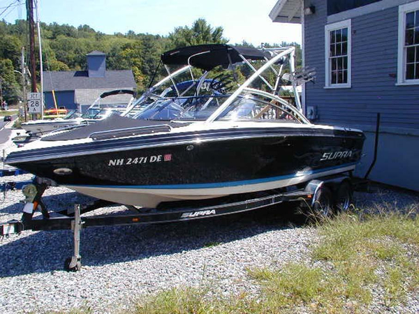 Used Supra Sun Sport 22V Bowrider Boat For Sale