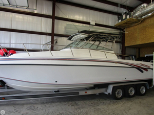 Used Fountain 31 Express Fisherman Walkaround Fishing Boat For Sale