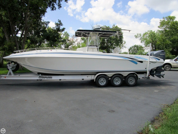 Used Fountain 31 Tournament Edition (open bow CC) Center Console Fishing Boat For Sale
