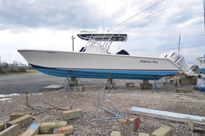 Used Sea Hunter 37 Tournament Center Console Fishing Boat For Sale