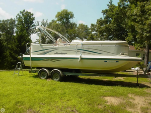 Used Hurricane 238 RE Fun Deck Pontoon Boat For Sale