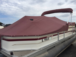 Used Fisher Liberty 180 Pontoon Boat For Sale