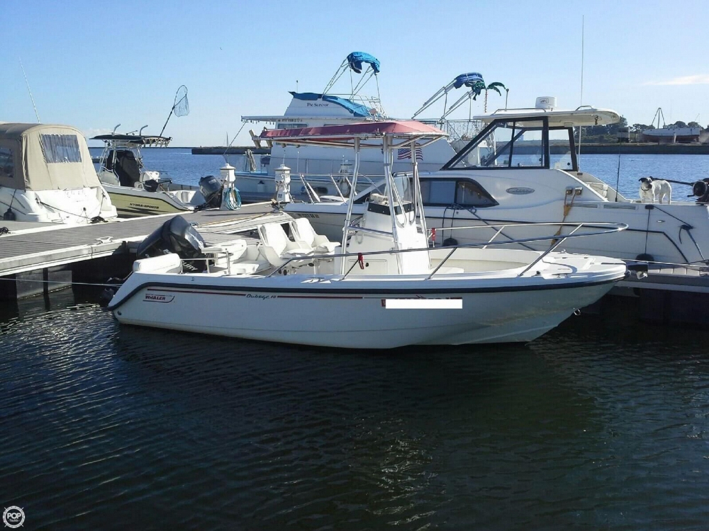 2000 used boston whaler 18 outrage center console fishing for Fishing boats ny